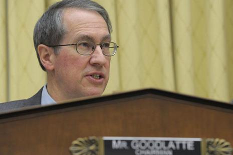 House Judiciary Committee Chairman Bob Goodlatte.