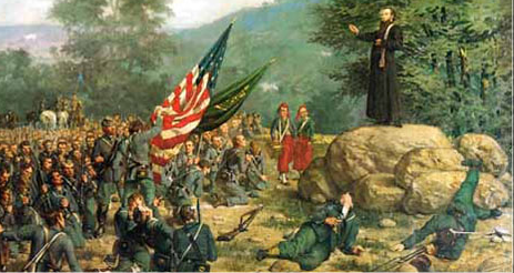 A Prayer Before Death for the Irish Brigade: Gettysburg July 2, 1863