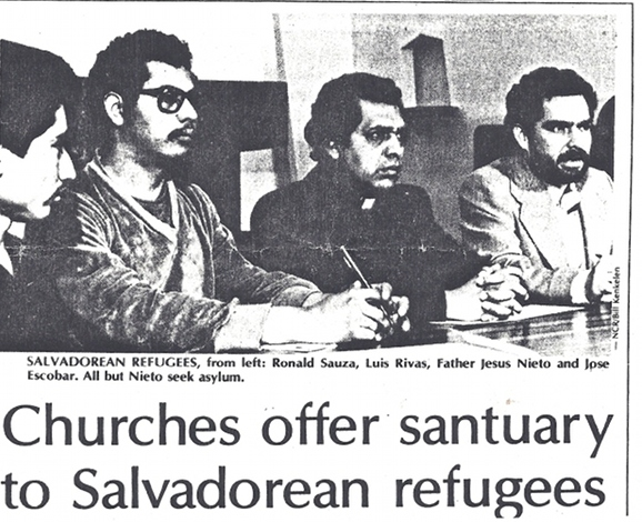 Religious groups welcomed refugees in defiance of the Reagan Administration.
