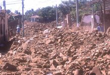 The capital of El Salvador was decimated by the 1986 earthquake.