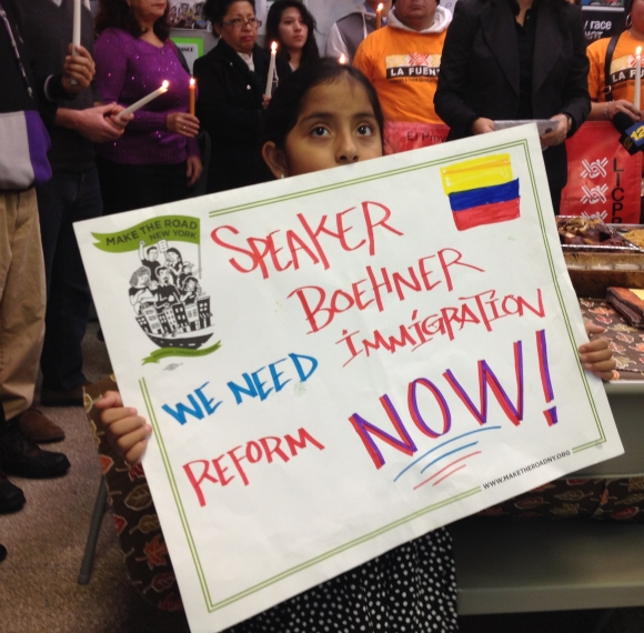 Last News On Immigration Reform: On The Eve Of Thanksgiving, Long Islanders Call For