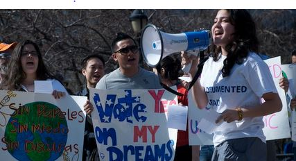 Students are pushing for NY DREAM passage.