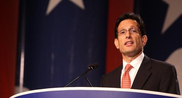 House Majority Leader Eric Cantor