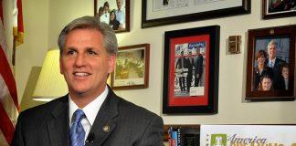 Rep. Kevin McCarthy.