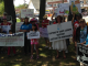 Scores of Long Islanders rallied in Brentwood Saturday for Immigration Reform.