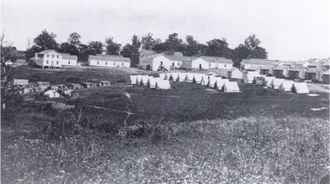 camp-nelson-barracks-tents-huts
