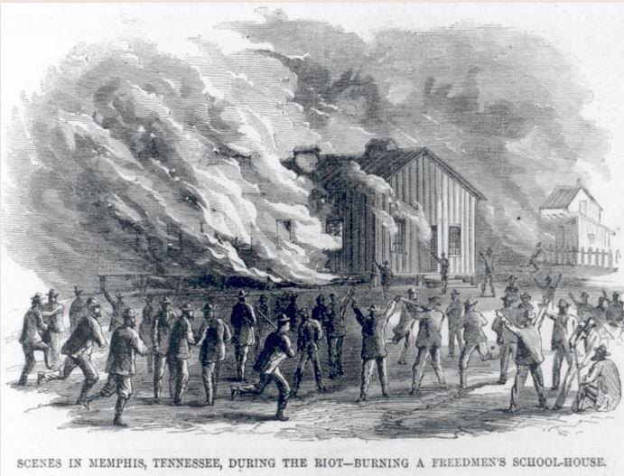schurz2-freedmens-school-house-1866-Harpers
