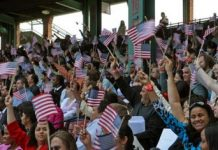 Hundreds of immigrants applied for citizenship at CARECEN last year.