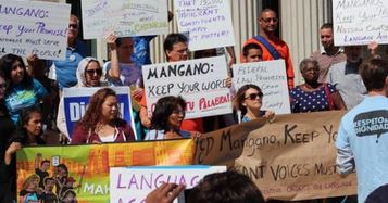 Tuesday march for Nassau language access.