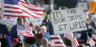 Political rallies took on an anti-immigrant tone this summer.