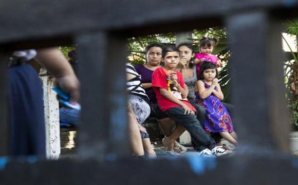 Ruelas, of Casa Alianza in Honduras, spoke this morning at the New York Immigration Coalition, in Manhattan.
