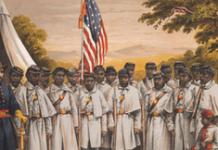 Black troops, sometimes with immigrant officers, played a key role in ending slavery.