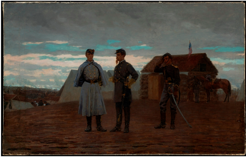 winslow-homer-officers-in-camp