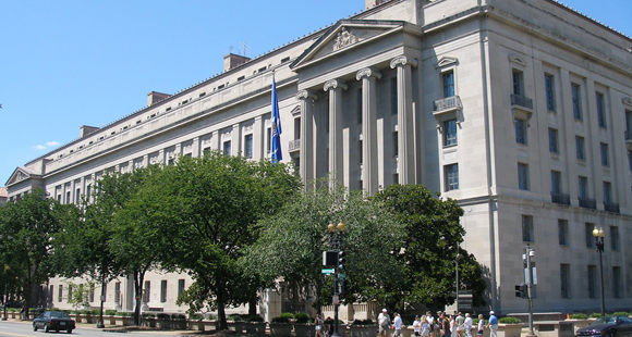The U.S. Department of Justice.