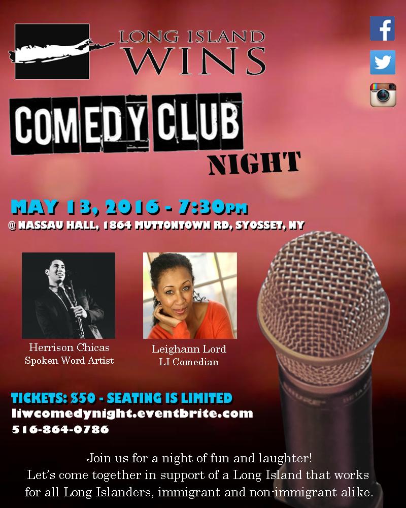 Comedy club night