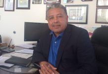 Mateo at his office
