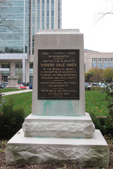 robert-dale-owen-memorial-indiana-statehouse