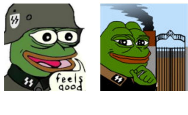 Alt Right Meme Pepe The Frog Branded Hate Symbol By Adl Long
